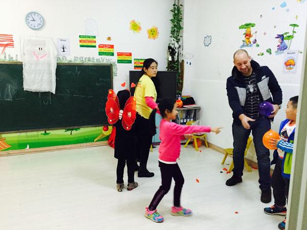 沧州市道恩国际语言学校外教上课