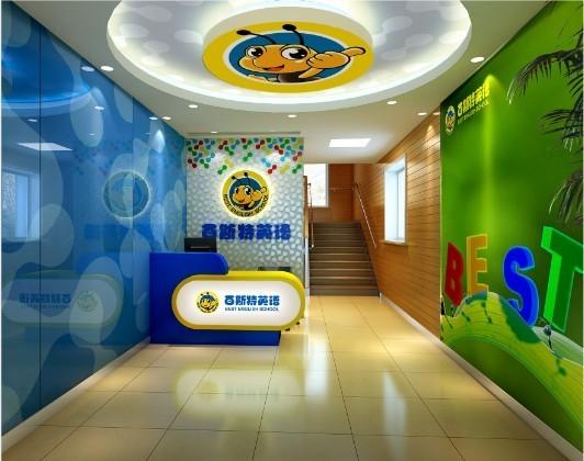 儿童培训机构招牌设计