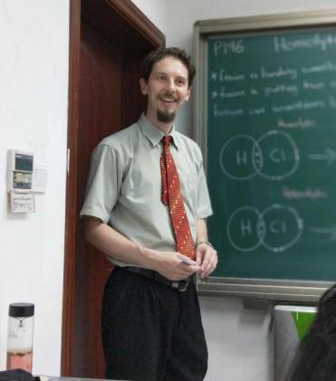 澳大利亚博士外教的照片