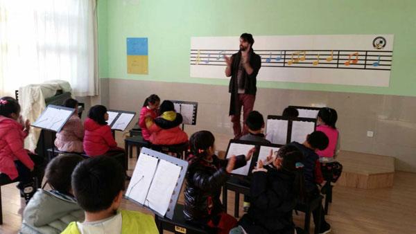 山东潍坊美加国际学校外教活动